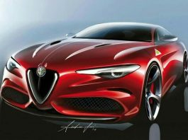 Alfa Romeo Giulia скетч