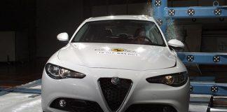 Alfa Romeo Giulia NCAP