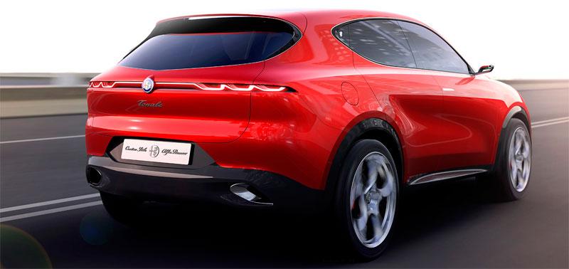 Alfa Romeo Tonale (front)