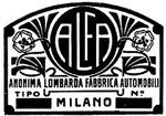 Первый логотип Alfa