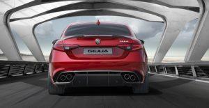 Alfa Romeo Giulia back