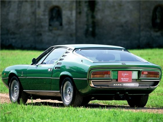 Alfa Romeo Montreal 1970 back side