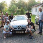 провожаем ребят на GTV - Алексея и Наталью :)