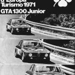 Alfa Romeo GTA 1300 Junior poster 1970