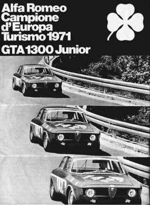 Alfa Romeo GTA 1300 Junior poster 1970