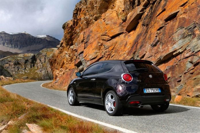 Alfa Romeo MiTo Backside