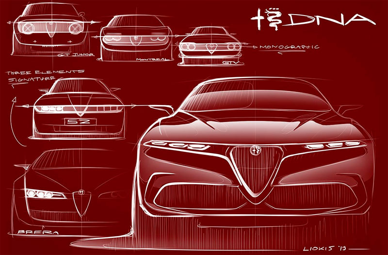 Alfa Romeo Tonale sketch